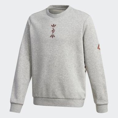 Sweatshirt Cinzento Criança Originals