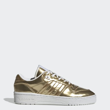 Women Originals Gold Rivalry Low Shoes