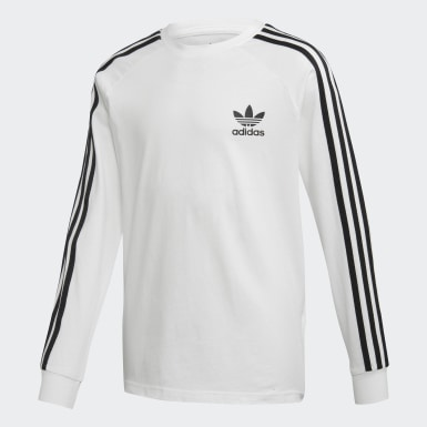 3-Stripes Long-Sleeve Top