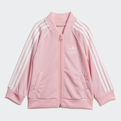 Infant Originals Pink SST Track Suit Set