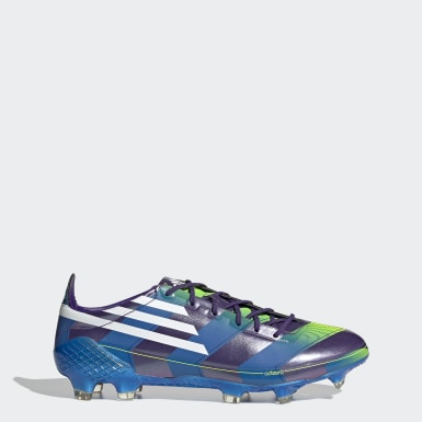 Men Football Purple F50 Ghosted Adizero Firm Ground Boots