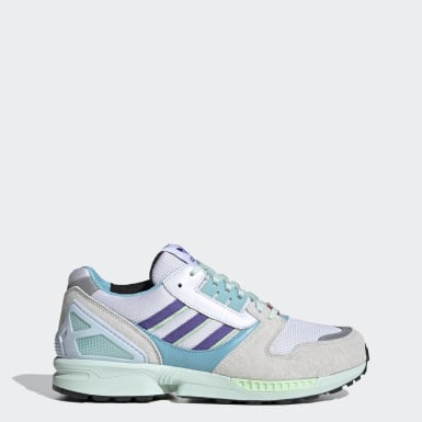 Men Originals White ZX 8000 Shoes