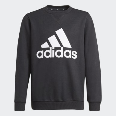 Boys Sport Inspired Black Essentials Sweatshirt