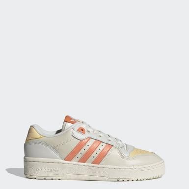 Sapatos Rivalry Low Branco Mulher Originals