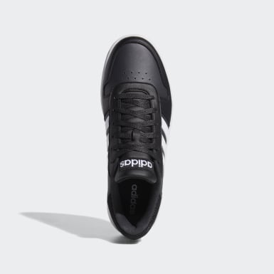 Men Sport Inspired Black Hoops 2.0 Shoes
