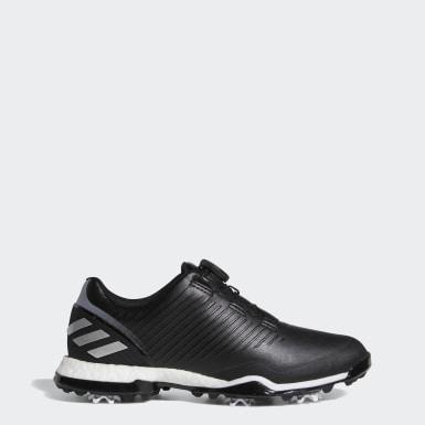 Women Golf Black Adipower 4orged Boa Shoes