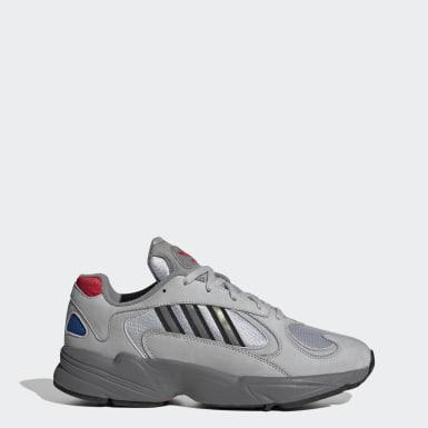 ผู้ชาย Originals สีเงิน รองเท้า Yung-1