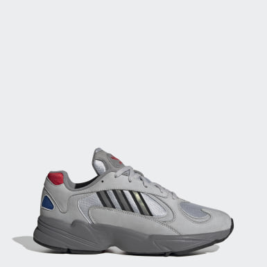 Men Originals Silver Yung-1 Shoes