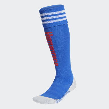 Football Blue Manchester United Human Race Socks