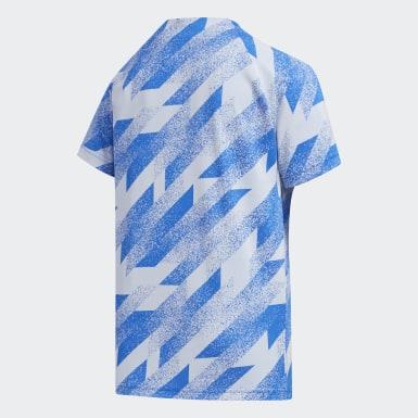Camiseta Azul Niño Training
