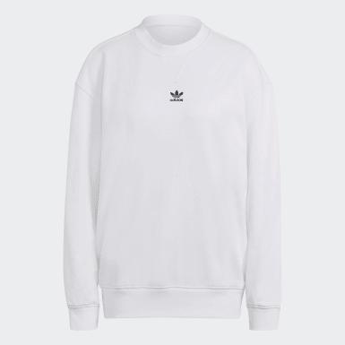Dames Originals wit Adicolor Essentials Sweatshirt
