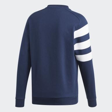 Heren Handbal Blauw Franse Handbalbond Sweatshirt