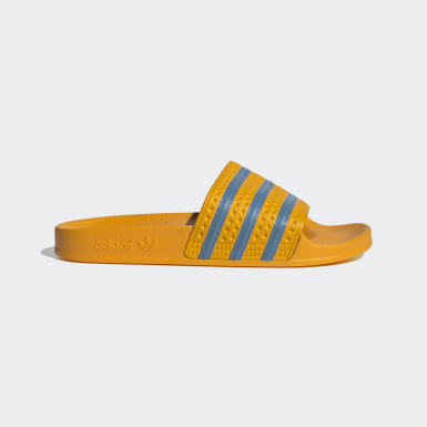 Women Originals Yellow Adilette Slides