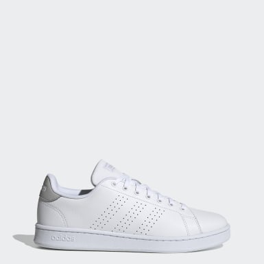 Sport Inspired White Advantage Shoes