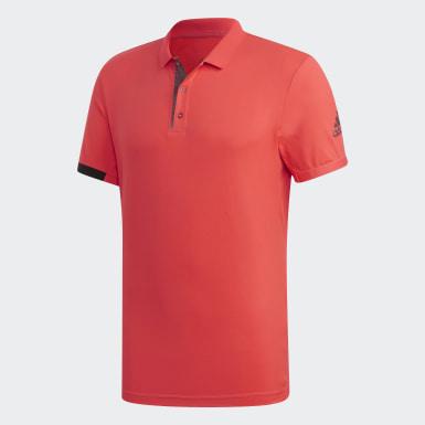 Erkek Tenis Red MatchCode Polo Tişört