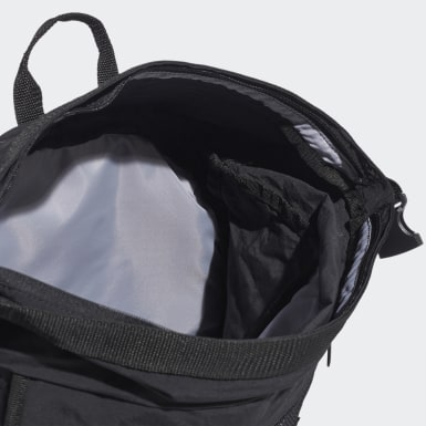 Mochila Classic Zip-Top Reflectante Negro Training