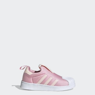 Kids 4-8 Years Originals Pink Superstar 360 Shoes