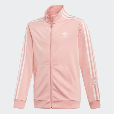 Boys Originals Pink Track Jacket