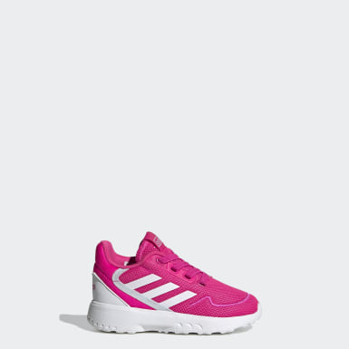 Kids Running Pink Nebzed Shoes