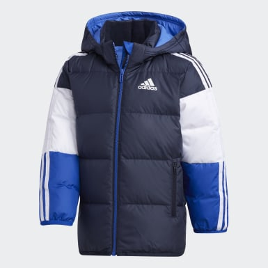 Kids Training Blue Down Jacket