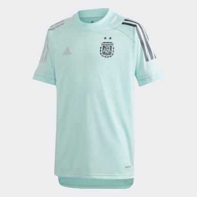 Camiseta Entrenamiento Argentina Turquesa Niño Fútbol