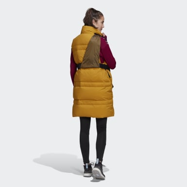 Women Urban Outdoor Gold Prime COLD.RDY Down Vest
