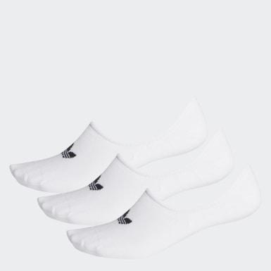Originals bílá Ponožky No-Show – 3 páry