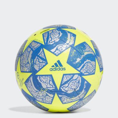 желтый Футбольный мяч FIN IST CLB