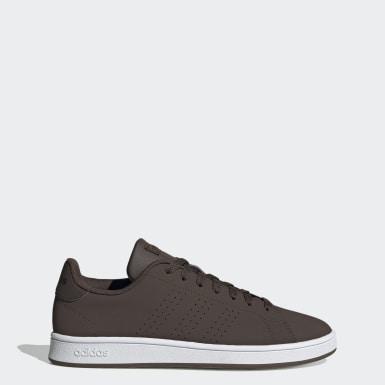 Men Sport Inspired Brown Advantage Base Shoes