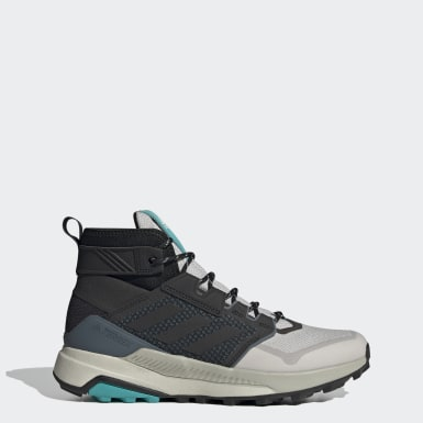 Zapatillas de Senderismo Terrex Trailmaker Corte Medio Plomo Hombre Senderismo