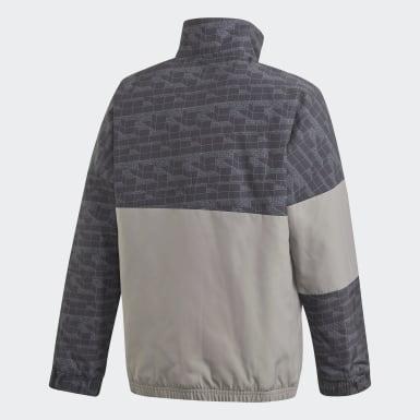 Barn Träning Svart adidas x Classic LEGO® Bricks Half-Zip Warm Jacket