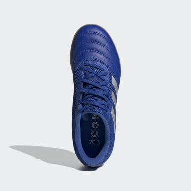 Kids Football Blue Copa 20.3 Sala Indoor Boots