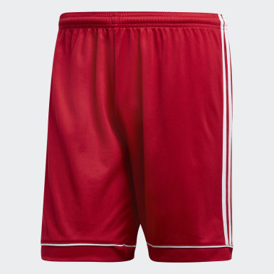 Men Football Red Squadra 17 Shorts