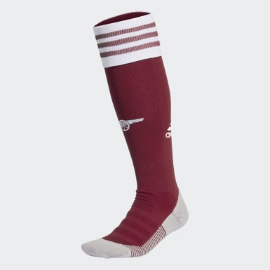 Football Burgundy Arsenal Home Socks