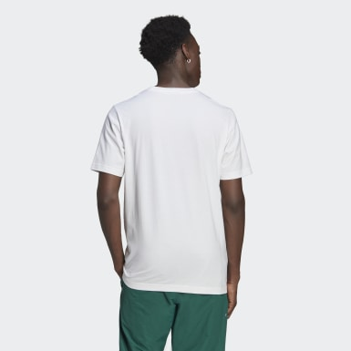 Men Originals White Crest Tee