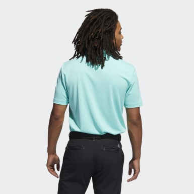 Men Golf Green Advantage Novelty Heathered Polo Shirt