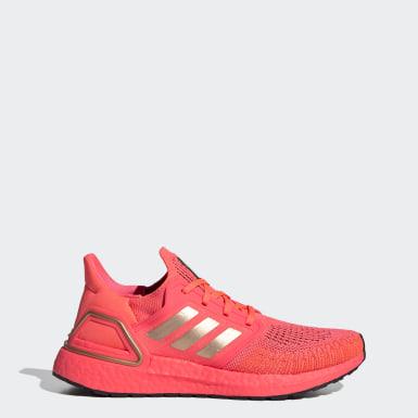 розовый Кроссовки для бега Ultraboost 20