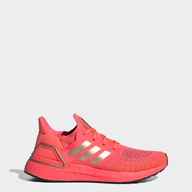Women Running Pink Ultraboost 20 Shoes