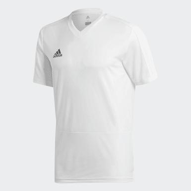 Camiseta de Entrenamiento Condivo 18 Blanco Hombre Fútbol