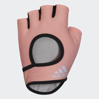 оранжевый Перчатки для фитнеса, размер M