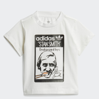 Infants Originals White Stan Smith Sushi Tee