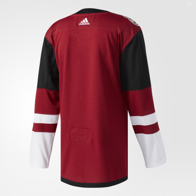 Maillot Coyotes Domicile Authentique Pro Burgundy Hockey
