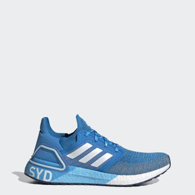 Running Blue Ultraboost 20 Sydney Shoes