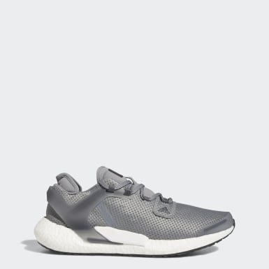 Men Running Grey Alphatorsion Boost Shoes