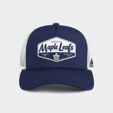 Men Training Multicolor Maple Leafs Foam Trucker Cap