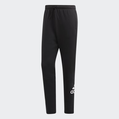 Men's Athletics Black Must Haves Badge of Sport Fleece Pants