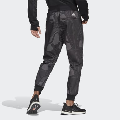 Pantaloni Jacquard Footwear Nero Uomo Athletics