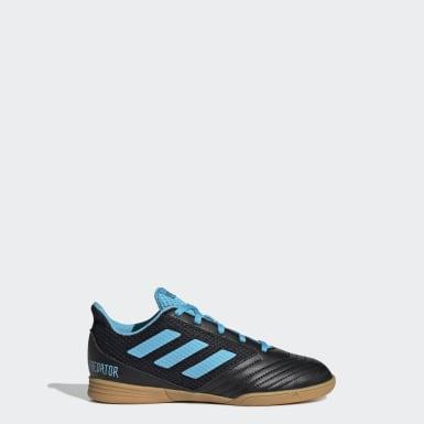 Boys Football Black Predator 19.4 Sala Boots