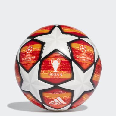 Ballon d'entraînement UCL Finale Madrid Top Orange Hommes Football