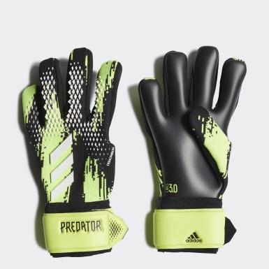 зеленый Вратарские перчатки Predator 20 League